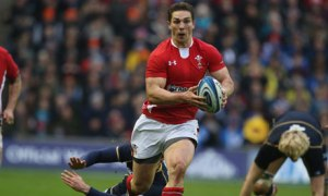George North, Scotland v Wales, Six Nations