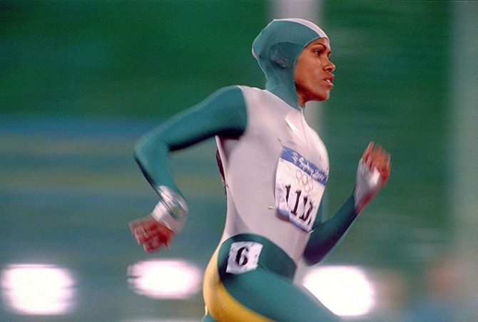 cathy freeman 100m time