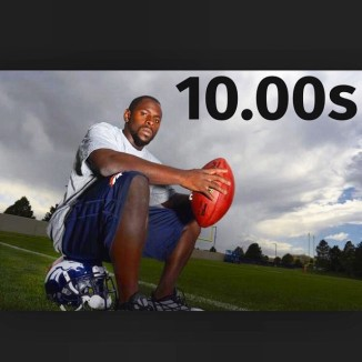 Trindon Holliday 100m time