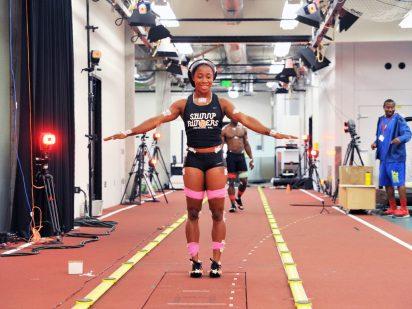 Jamaican track star Shelly-Ann Fraser-Pryce