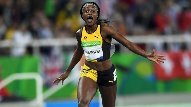 Elaine Thompson Olympic gold