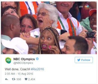 NBC Olympics Ans Botha