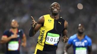Usain Bolt Rio Gold 100m