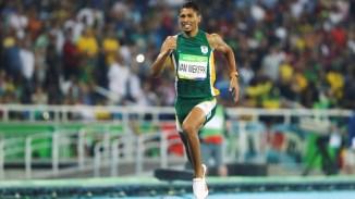 Wayde van Niekerk Rio 400m