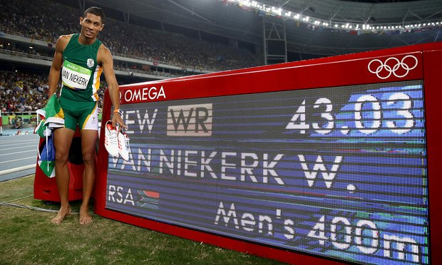 Wayde van Niekerk World Record 400m